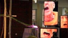 """""""...Pixel"""" Videoinstallation mit Henning von Atelier Licht.n.Stein"""